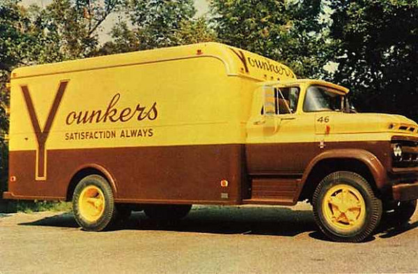 Delivery Truck c1960<br /> Younkers Department Store