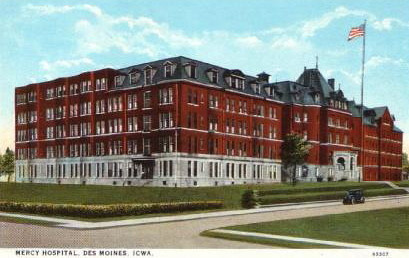 Mercy Hospital<br /> 6th Avenue<br /> Des Moines
