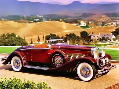 1932 Dusenberg SJ<br /> Built in Des Moines?