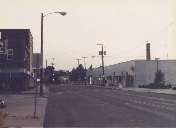 Looking North on Beaver Avenue