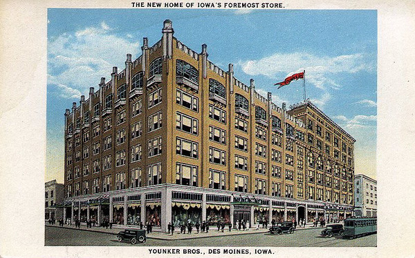 Younkers Postcard