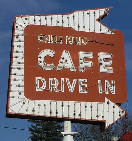 George The Chili King<br /> Hickman Avenue at Merle Hay Road