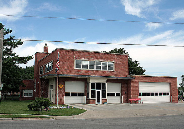 Firehouse #3 Easton Blvd Built 1950