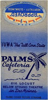 Palm's Cafeteria<br /> 616 Locust downstairs
