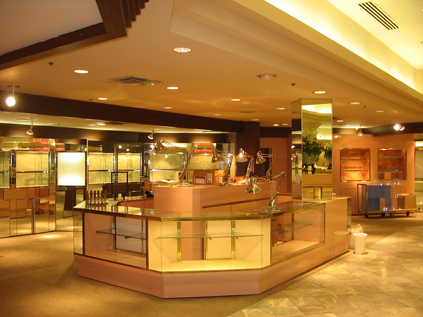 Younkers Cosmetic Counter 2005