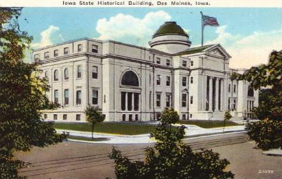 Iowa Historical Building<br /> East Grand