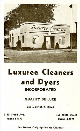 Luxree Cleaners <br /> 2130 Grand Avenue