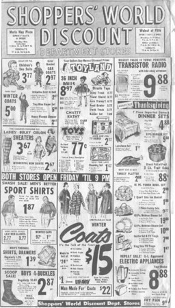 Shopper's World Ad