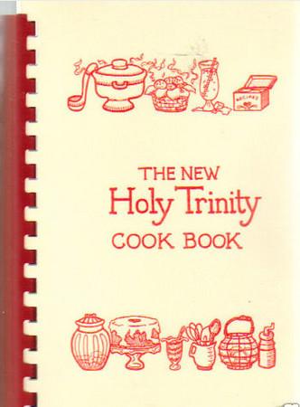 Holy Trinity Cookbook 1989