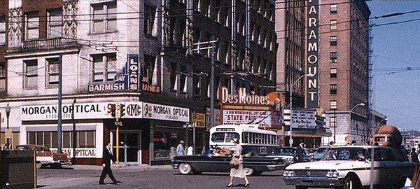 Looking east Grand Avenue<br /> c1960