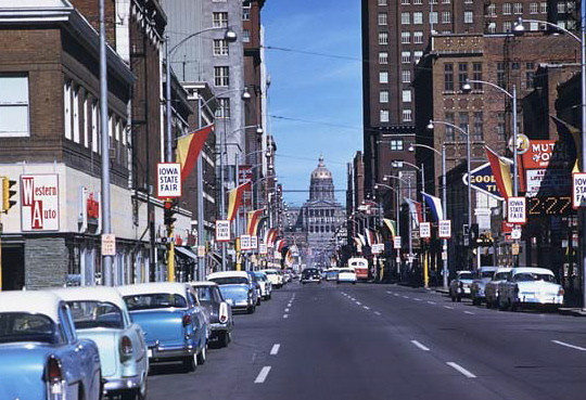 Locust Avenue looking East c1955