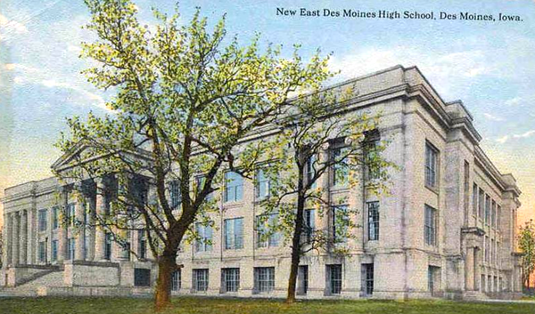 East Des Moines High School c1925