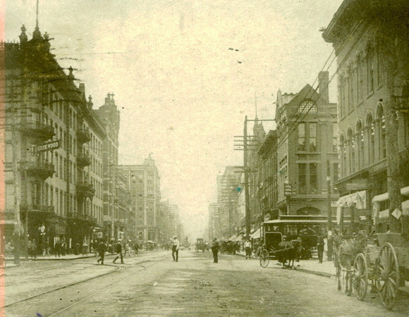 Walnut Street Looking West c1906