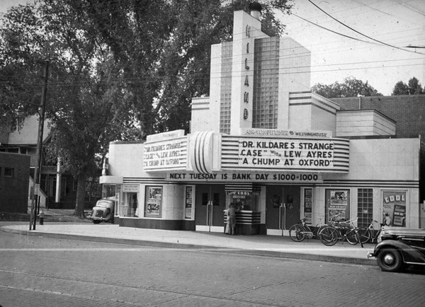 Hiland Theater - 1940<br /> 5th & Euclid
