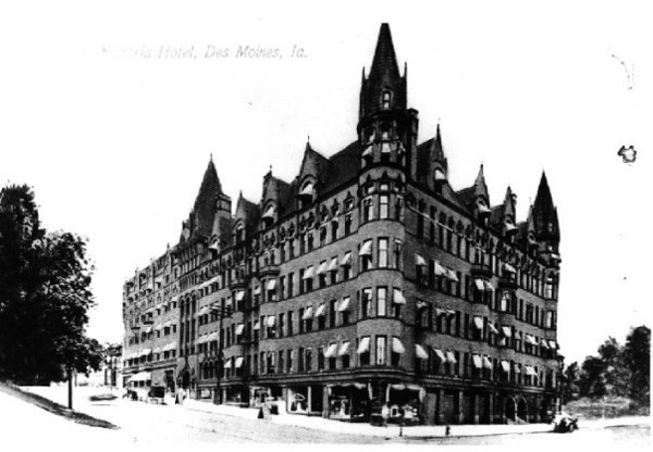 Victoria Hotel <br /> 6th & Keo Way<br /> Built 1899 at the cost of $90000