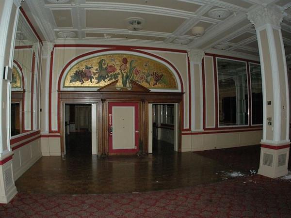 Tea Room Entrance