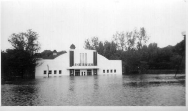 Flooded Riviera Ballroom @ Riverview Park