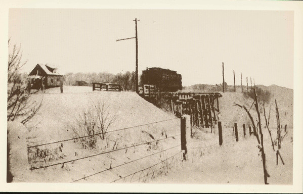 Merle Hay Trestle at Urbandale Ave. 1914