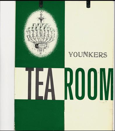 Cover of a Tea Room Menu