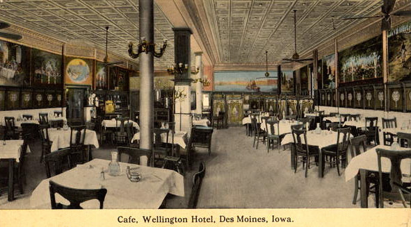 Cafe at the Wellington Hotel
