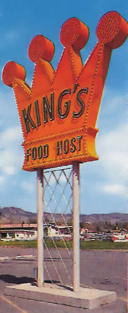 King's Food Host Sign