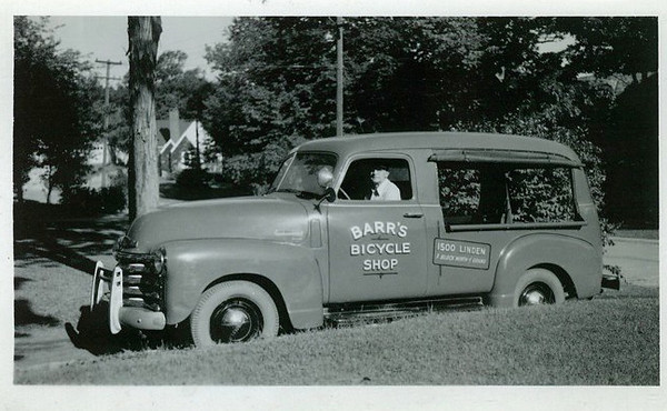Barr's Bicycle Shop<br /> Great looking Chevrolet truck