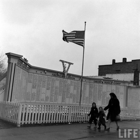 Life Magazine photo<br /> Honor Wall in Valley Junction, WDM