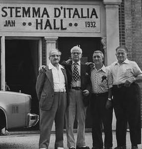 Stemma D'Italia Hall