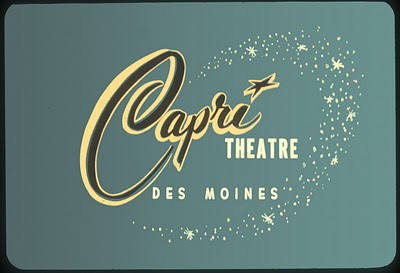 Capri Theater<br /> 4115 University<br /> Opened as The Capri 11/10/60.<br /> Closed in 2001