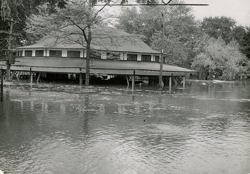 Flooded Carousel @ Riverview Park