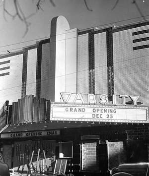 Varsity Theater - 1938<br /> 25th & University