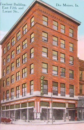 Teachout Building<br /> East 5th & Locust