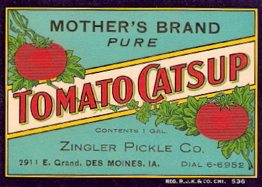 Zingler Pickle Co. DSM