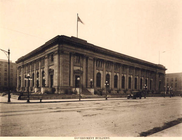 Main US Post Office<br /> 2nd & Walnut Street<br /> Currently part of the Polk County Office Complex