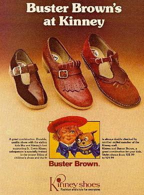 Kinney Shoe Ad