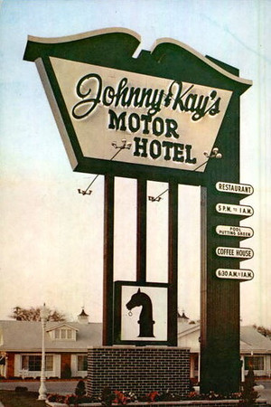 Johnny & Kay's Motor Lodge.<br /> Fleur & Army Post Road