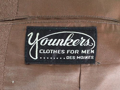 Men's Suit Label