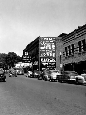 Sumner Pontiac  North of Grand Ave on 5th Street