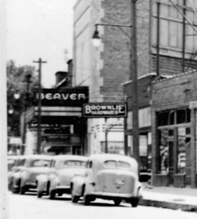Beaverdale Business District<br /> The Beaver Theater c1940