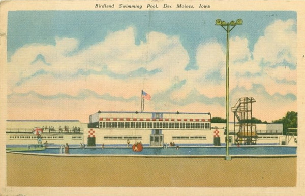 Birdland Swimming Pool<br /> 6th Avenue