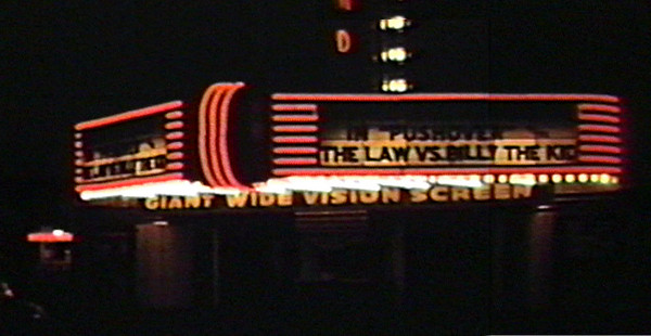 Hiland Theater Marquee