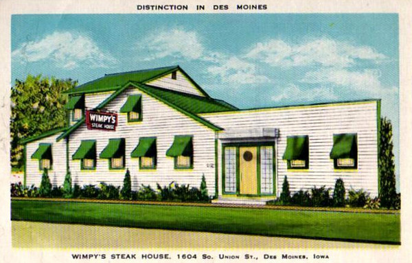 Wimpy's Steak House<br /> 1604 South Union Street
