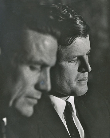Governor Harold Hughes with Senator Ted Kennedy