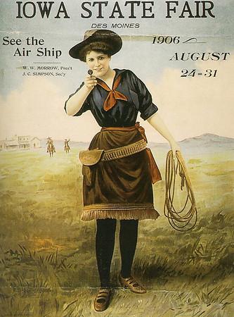 1906 Iowa State Fair Poster