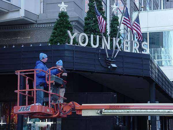 Christmas Time At Younkers 7th & Walnut