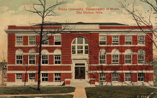 Conservatory of Music<br /> Drake University