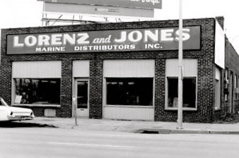 Lorenze & Jones <br /> 132 East Locust c1960