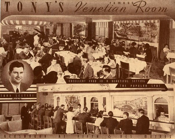 Tony's Venetian Room<br /> Keo at 5th Street