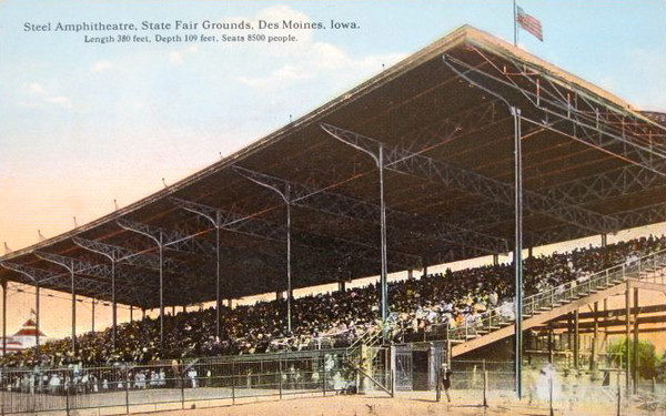 Grandstands<br /> Iowa State Fair