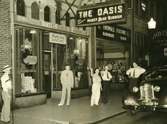 The Oasis Night Club<br /> 4th & Walnut<br /> Currently Java Joe's?